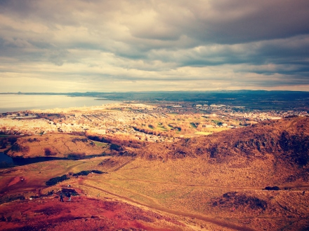 View from Arthur's Seat.